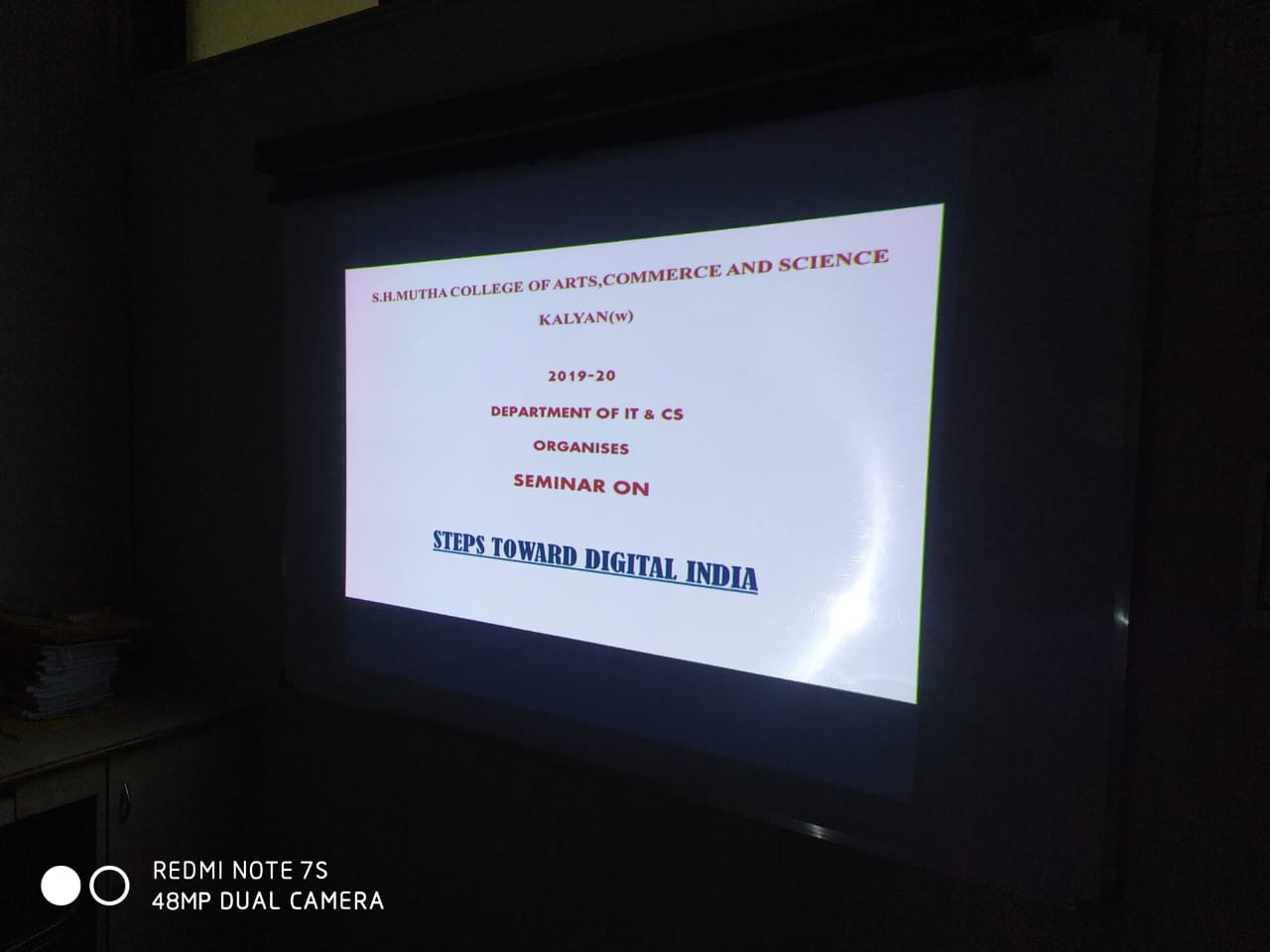 Workshop on Digital India