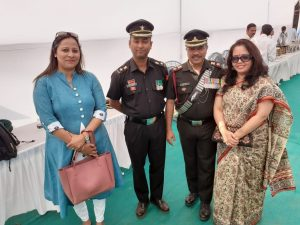 Participation in NCC Day