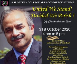 """Webinar  on the occasion of """"Unity Day"""""""